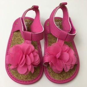 Carter's Infant Girls Pink Sandals